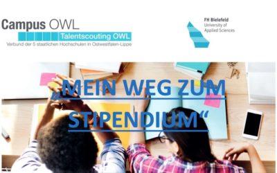 """Veranstaltungsreihe """"Mein Weg zum Stipendium"""""""