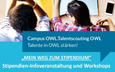 """Einladung zum Workshop """"Stipendien-Tinder"""" an der FH Bielefeld"""