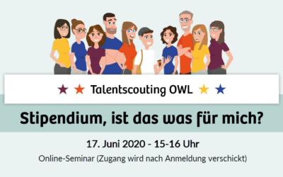 Jetzt anmelden: Stipendien-Online-Seminar für Schüler*innen am 17. Juni 2020