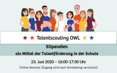 Jetzt anmelden: Stipendien-Online-Seminar für Lehrer*innen am 23. Juni 2020