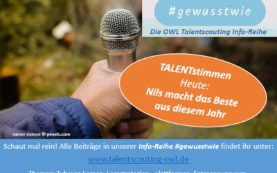 #gewusstwie: TALENTstimmen – Nils berichtet