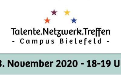 TALENTE.NETZWERK.TREFFEN Campus Bielefeld am 23.11.2020